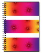 A Fractal Spectrum Spiral Notebook