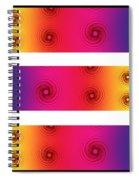 A Fractal Spectrum Spiral Notebook