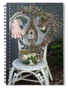 A Gardner's Welcome Spiral Notebook