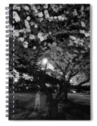 A Ghost In The Cherry Blossoms Spiral Notebook