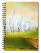 A Ghost Of A Chance Spiral Notebook