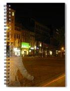 A Ghost Of Antwerp. Belgium. Spiral Notebook