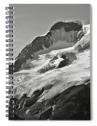 A Glacier In Jasper National Park Spiral Notebook