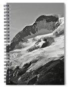 A Glacier In Jasper National Park Spiral Notebook