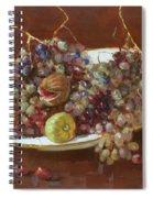 A Greek Summer Plate Spiral Notebook