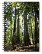 A Green World Spiral Notebook