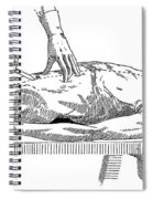 A Handbook Of Morbid Anatomy Spiral Notebook