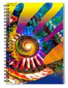 A Helping Hand Spiral Notebook