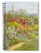 A Herbaceous Border Spiral Notebook