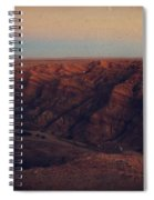 A Hot Desert Evening Spiral Notebook