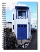 A House In El Golfo Spiral Notebook