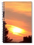 A June Sunrise Spiral Notebook