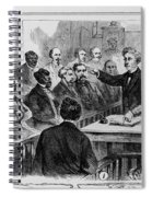 A Jury Of Whites And Blacks Spiral Notebook