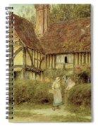 A Kentish Cottage Spiral Notebook