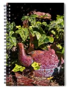 A Kettle Of Greens Spiral Notebook