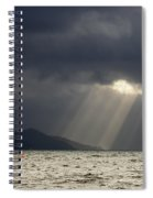 A Light In The Storm Spiral Notebook