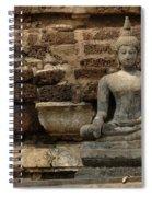 A Little Buddha Spiral Notebook