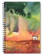 A Little House On Planet Goodaboom Spiral Notebook
