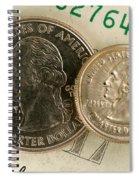 A Magnetically Shrunken Quarter Spiral Notebook