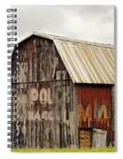 A Mail Pouch Barn In West Virginia Spiral Notebook