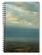 A Majestic Birds Eye View Spiral Notebook