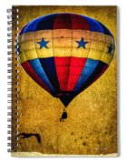 A Man And His Balloon Spiral Notebook
