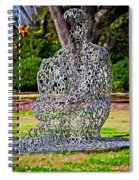 A Man Of Letters Spiral Notebook