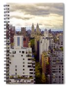A Manhattan View Spiral Notebook