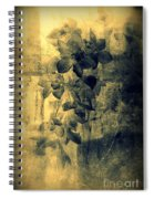 A Medley Of Orchids Spiral Notebook