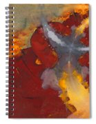 A Meeting Of Monks Spiral Notebook