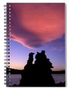 A Mono Lake Sunset Spiral Notebook