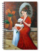 A Mothers Love Spiral Notebook