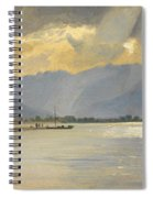 A Mountain Landscape Spiral Notebook