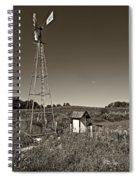 A Moving Memory Monochrome Spiral Notebook