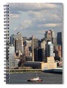 A New York City Afternoon Spiral Notebook