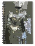 A Nightly Knight Spiral Notebook