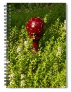 A Orb In Thyme Spiral Notebook