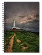 A Path To Enlightment Spiral Notebook