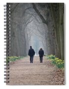 A Peaceful Stroll Spiral Notebook