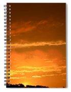 A Peeking Sunrise Spiral Notebook