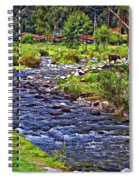 A Place Without Time Spiral Notebook