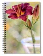 A Plum Perfect Kinda Day Spiral Notebook