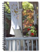 A Porch To Reflect Spiral Notebook