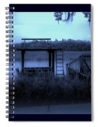 A Quiet Place By The Marsh Spiral Notebook