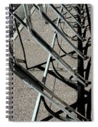 A Rack Of Shadows Spiral Notebook