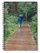 A Rainey Day In Alaska Spiral Notebook