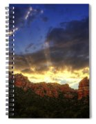 A Ray Of Sunshine  Spiral Notebook