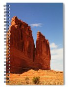 A Rock At Arches Spiral Notebook