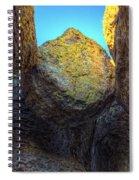 A Rock Balanced Precariously Spiral Notebook
