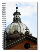 A Roman Church And Dome Spiral Notebook